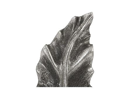 Petiole Wall Leaf Silver, SM, Version B