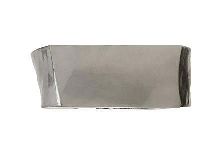 Plateada Hollow Console Liquid Silver