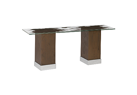 Floating Slice Console Table