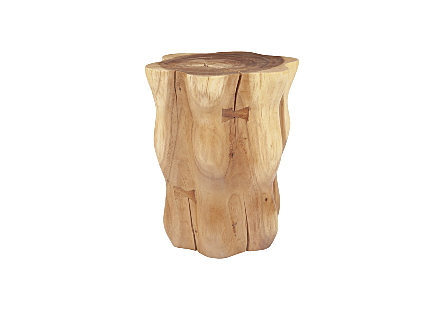 Chamcha Wood Flower Stool