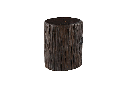 Redwood Stool Round