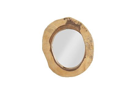 Chuleta Mirror Chamcha Wood, SM