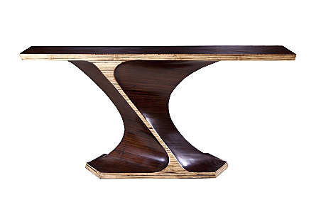 Bamboo Twist Console Table