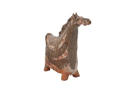 Short Horse Clay Animal