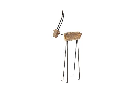 Gazelle Carved Animal