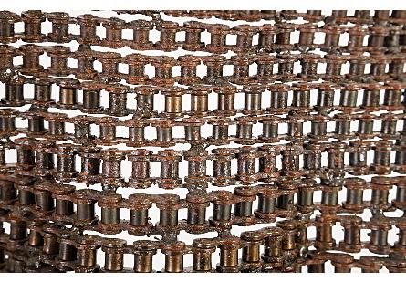 Chain Torso Sculpture