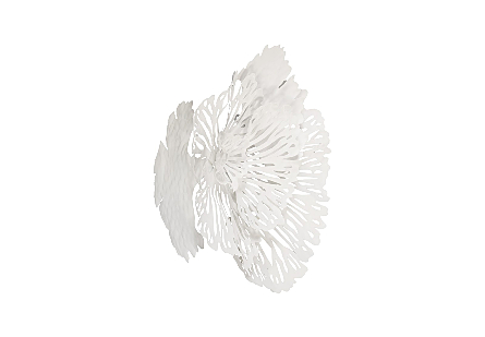 Flower Wall Art White SM