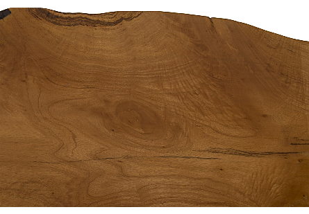Mai Theng Burled Wood Console SS Legs