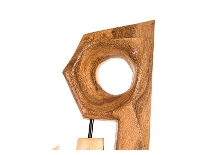 Jill Chamcha Wood Sculpture
