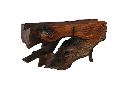 Makha Wood Console Table