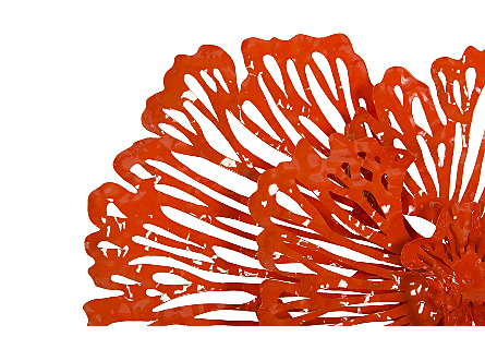 Flower Wall Art Coral, SM