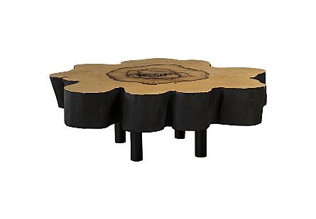 Tamarind Wood Coffee Table Burnt Edge
