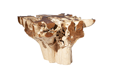 Teak Root Dining Table Base Square