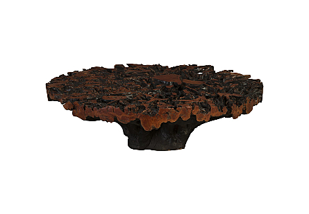 Lychee Root Coffee Table Round