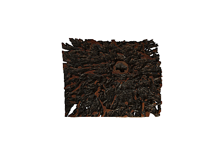 Lychee Root Coffee Table Square