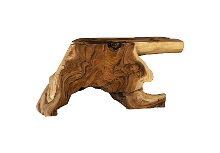 Chamcha Wood Console Table Table