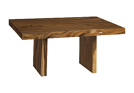 Live Edge Dining Table, Chamcha Wood Wood Legs