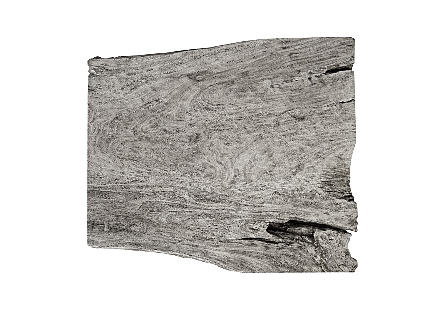Chamcha Wood Coffee Table Grey Stone