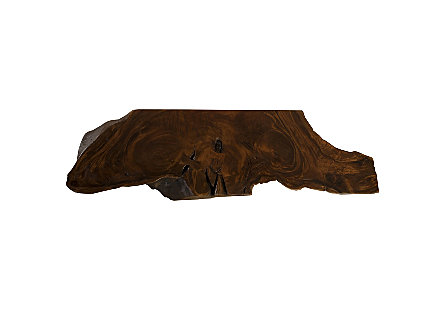 Chamcha Wood Console Table Perfect Brown