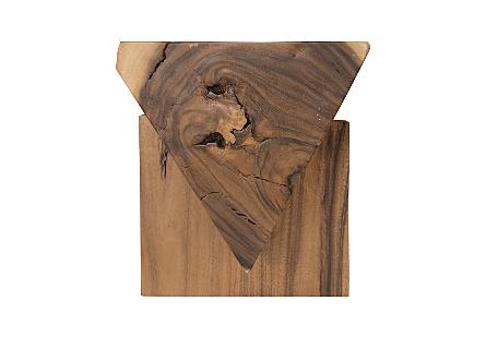 Chamcha Wood Triangle Bench