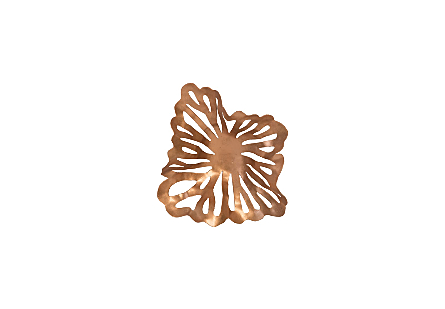 Flower Wall Art Copper