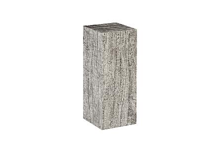 Origins Pedestal Mitered Chamcha Wood, Grey Stone, MD
