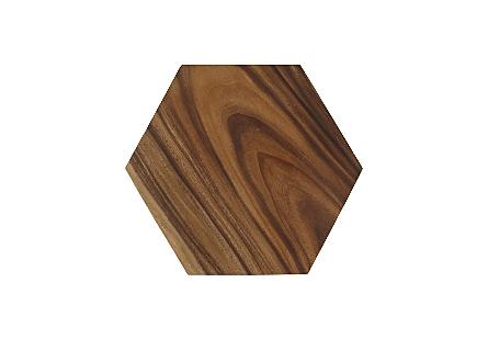 Honeycomb Side Table Chamcha Wood, MD